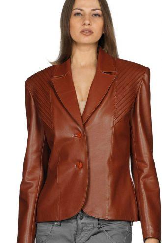Stylish Brown slim Fit Women Blazer