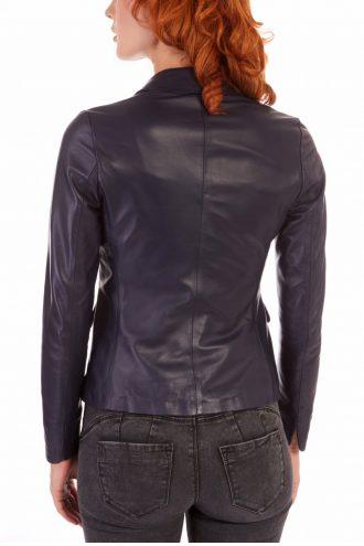 Trendy women Leather Blazer