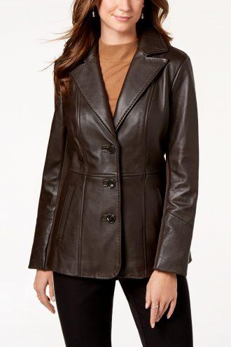 V-Stitched-Brown-Blazer