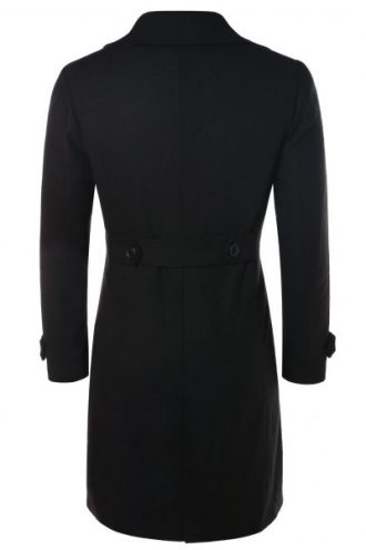 Womens-Wool-Blend-Trench-Coat