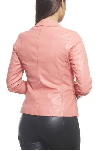 women Leather Blazer