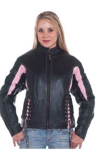 Black-Pink-Leather-Racer-Jacket