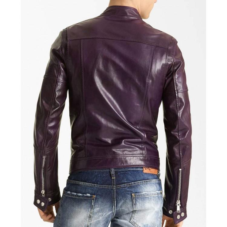ens-purple-faux-leather-jacket