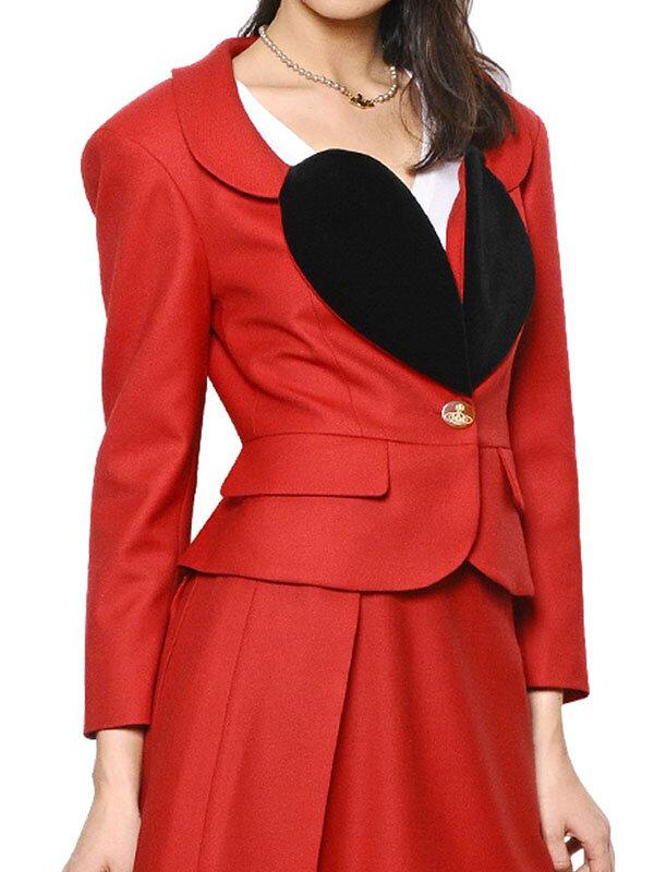The Vivienne Red Blazer
