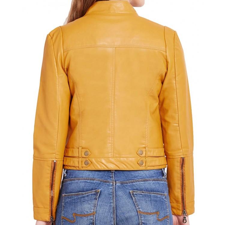 asymmetrical-yellow-biker-jacket