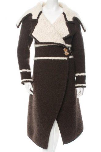 Elegant brown trench coat