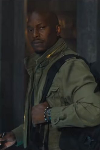 Fast and Furious 9 Tyrese Gibson Green Jacket